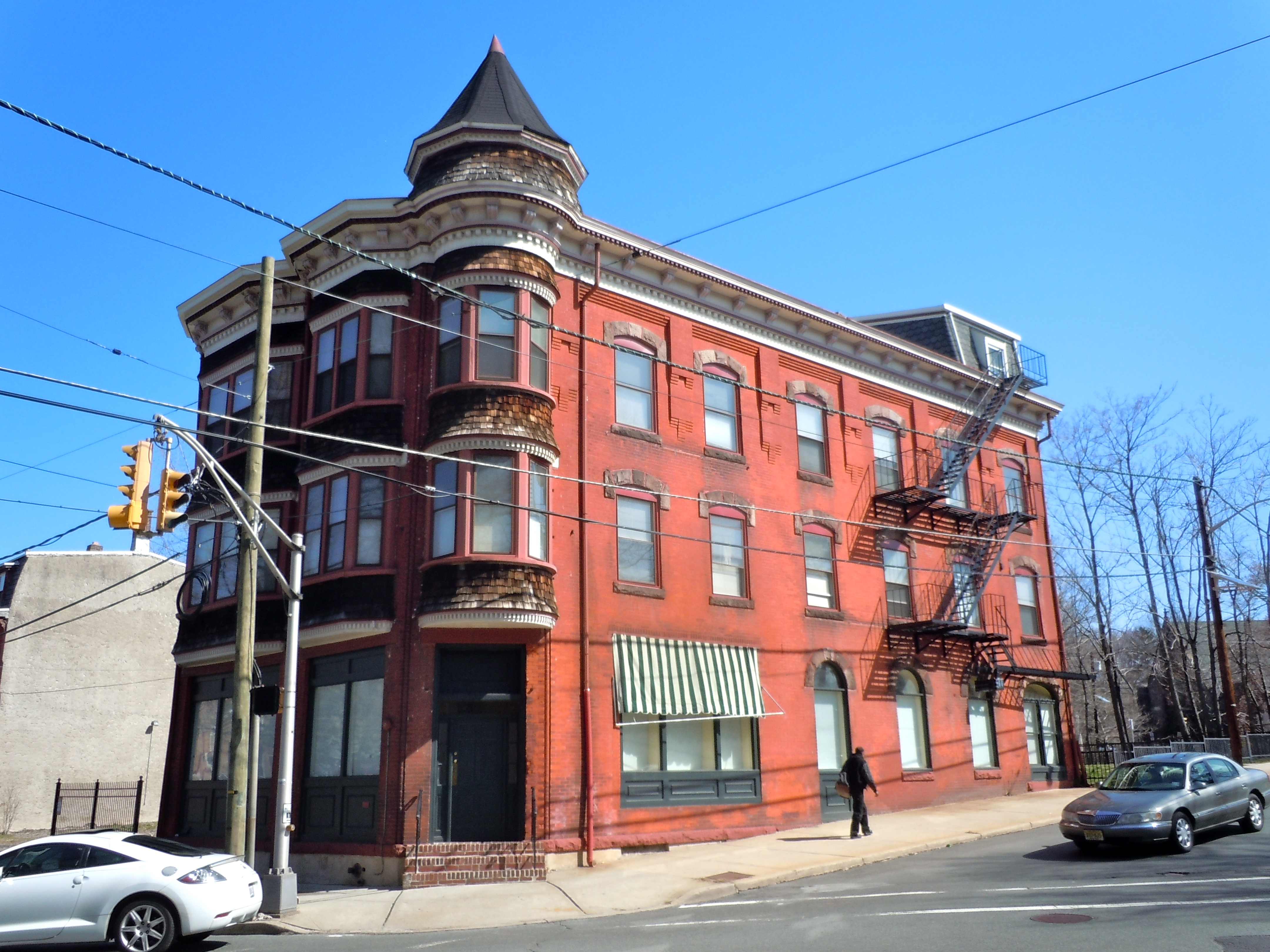 Adams and sickles building historic sites of trenton for Building a house in nj